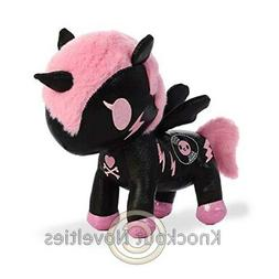 "7.5"" Tokidoki Unicorn - Dj Sparkle - Black Toy Cuddle Stuffe"