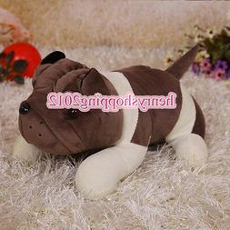 "7.9"" Cute Pug Dog Puppy Soft Plush Stuffed Animals Dolls Kid"