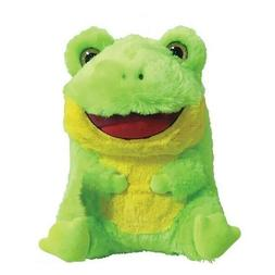 "7"" Belly Buddy Frog Plush Stuffed Animal Green"