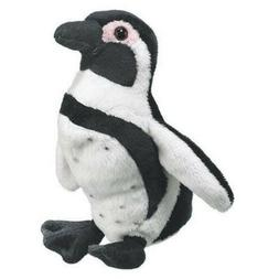 "7"" Black Footed Penguin Plush Stuffed Animal Toy"