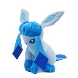 "7"" Glaceon Plush Stuffed Figure Poke-mon Doll Toy Gift Kid"