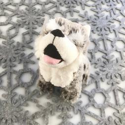 "Stuffed Animal House 7"" Howling Wolf Grey Gray Northern Wild"