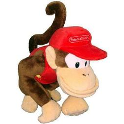 7 inch Super Mario Bros Diddy Kong Plush Doll Stuffed Animal