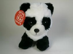 "7"" Panda Bear with Big Eyes Plush Stuffed Animal Toy Fiesta"