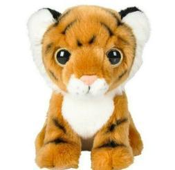"""7"""" Tiger Plush Stuffed Animal Soft Baby Jungle"""