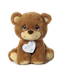 "8.5"" Aurora Precious Moments Plush Stuffed Animal, Brown - C"