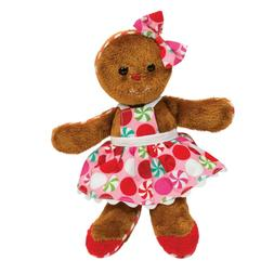"8"" Gingerbread Girl by Douglas Cuddle Toy stuffed animal plu"