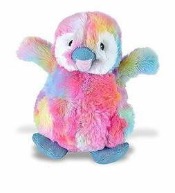 "Wild Republic 8"" Happy Penguin Stuffed Animal Plush rainbow"