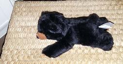 8 Inch Mini Cute Playful Flopsie Black Bear Plush Stuffed An