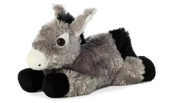 8 Inch Mini Flopsie Donkey Plush Stuffed Animal by Aurora &