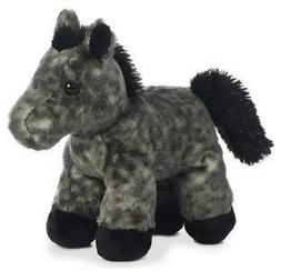 8 Inch Mini Flopsie Grey Horse Plush Stuffed Animal by Auror