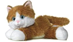 8 Inch Mini Flopsie Kitty Cat Plush Stuffed Animal by Aurora