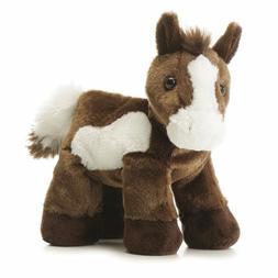8 Inch Mini Flopsie Paint Horse Plush Stuffed Animal by Auro