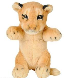 "8"" Lion Plush Stuffed Animal Jungle Cubbies Baby Cub Lioness"
