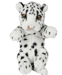 "8"" Snow Leopard Plush Stuffed Animal Jungle Cubbies Baby Cub"