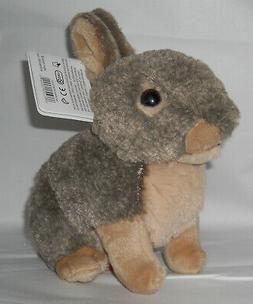 """Wild Republic 8"""" Stuffed BABY BUNNY, RABBIT Animal, Plush, B"""