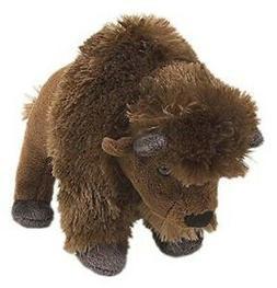 "Wild Republic 8"" Stuffed BISON, BUFFALO Animal, Plush, Brand"