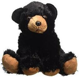 "Wild Republic 8"" Stuffed BLACK BEAR Animal, Plush, Brand New"