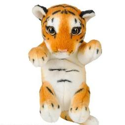 "8"" Tiger Plush Stuffed Animal Jungle Cubbies Baby Cub"