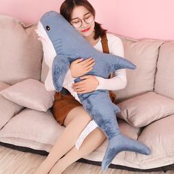 80/100/130cm Soft Shark Plush <font><b>Toy</b></font> <font>