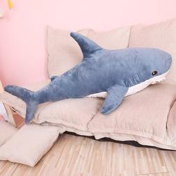 80/100cm Big Size Funny Soft Bite <font><b>Shark</b></font>