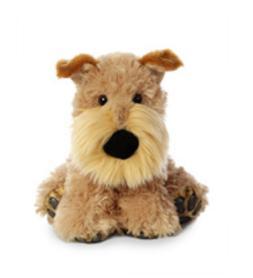 9 Inch Big Paws Fox Terrier Dog Plush Stuffed Animal by Auro