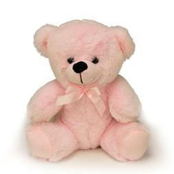 "9"" Baby Pink Plush Teddy Bear Stuffed Animal Toy Gift New"