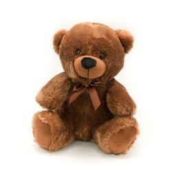 "9"" Brown Plush Teddy Bear Stuffed Animal Toy Gift New"