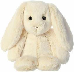 "Aurora 9"" Paddle Bunny Cream Stuffed Animal"