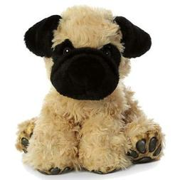 "9"" Pug Puppy Dog Lover Big Paw Aurora Plush Stuffed Animal T"