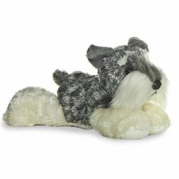 Aurora 16631 Mini Flopsies DOG Stein 8in, Small , Grey/White