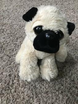 Aurora Plush Pug Dog Stuffed Animal