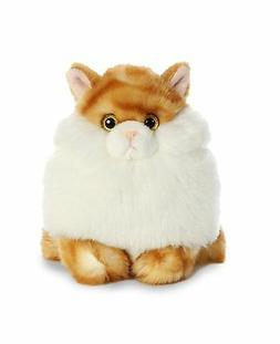 Aurora World Fat Cats Plush Toy Animal, Butterball Tabby, 7""