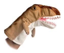 """Aurora World Hand Puppet Plush T Rex Dinosaur, 10"""""""