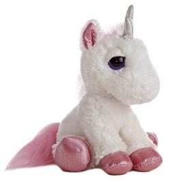 Aurora World Heavenly White Unicorn Plush Toy