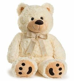 """Big Teddy Bear 30"""" - Tan"""