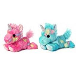 Bundle of 2 Aurora Stuffed Beanbag Animals - Blueberry Rippl