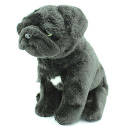 "Cute Pug  Soft Toy 12"" Puppy Dog Nice Plush Stuffed Animal T"
