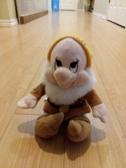 Disney Happy Stuffed Animal Beanie Toy 8in