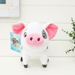 Disney Movie Moana Pet Pig Pua Stuffed Animals Cute Cartoon