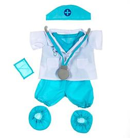 """Doctor Outfit Teddy Bear Clothes Fit 14"""" - 18"""" Build-a-bear,"""