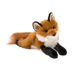 "Douglas Amber RED FOX 12"" Plush Stuffed Animal NEW"