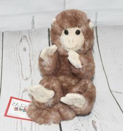 """Douglas MONKEY Lil Handful 6"""" Plush Stuffed Animal Cuddle NE"""