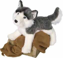 "Douglas Nadia HUSKY 24"" Plush Dog Stuffed Animal Siberian Al"