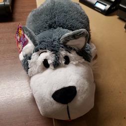 "Flip A Zoo   2-in-1 Stuffed Animal 16"" inch FLIPAZOO Huggabl"