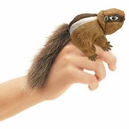Folkmanis Mini Chipmunk Finger Puppet