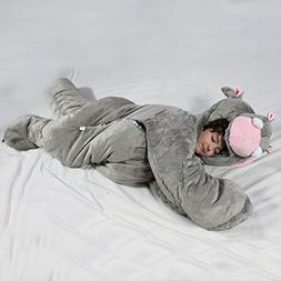For children up to 60 inches tall. The original SnooZzoo Hip