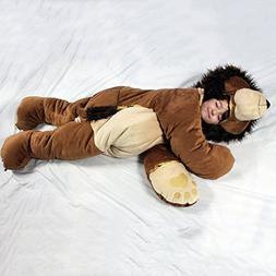 For children up to 60 inches tall. The original SnooZzoo Lio
