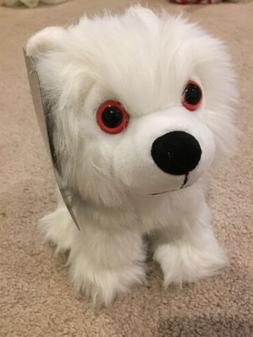"GAME OF THRONES Direwolf Ghost Cub 9"" Plush Toy Stuffed Anim"