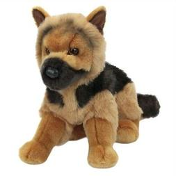 "GENERAL Douglas Cuddle Toy plush 14"" GERMAN SHEPHERD stuffed"